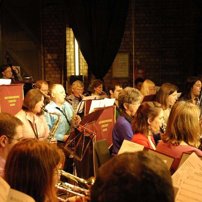 Huntingdonshire Concert Band, Family Christmas Concert, Commemeration Hall Huntingdon
