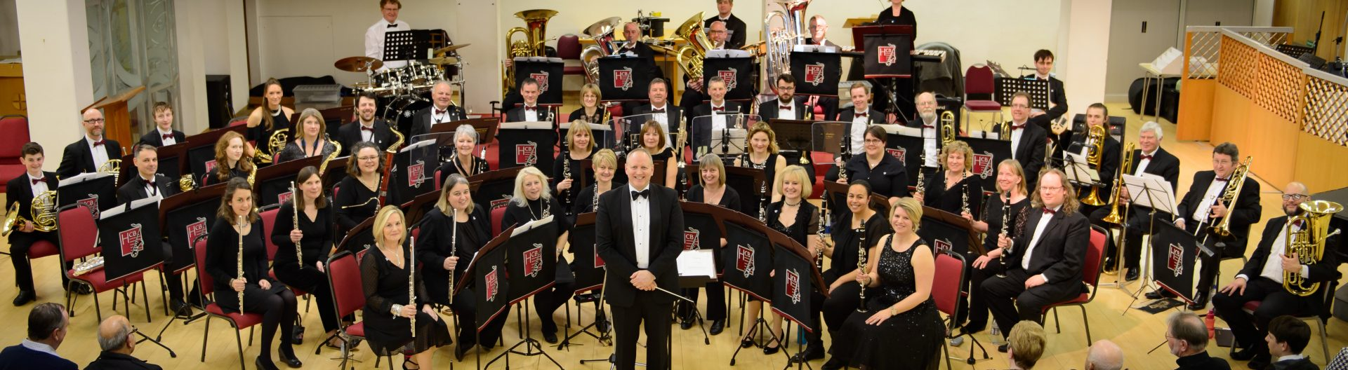 We are the Huntingdonshire Concert Band!