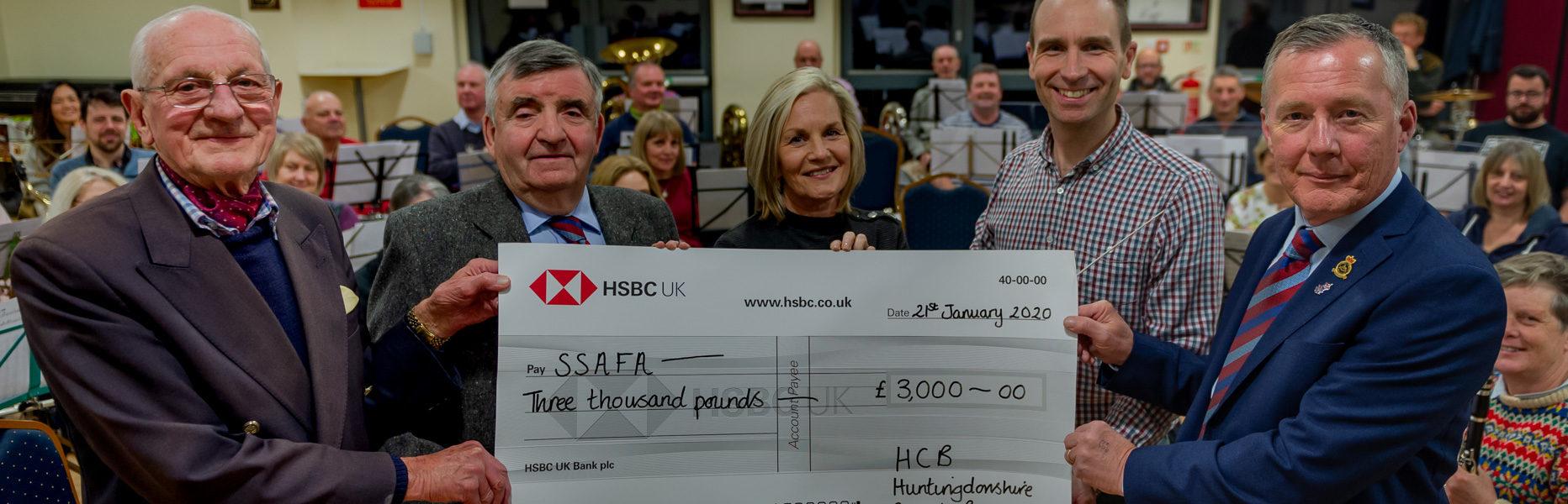 HCB Raise £3000 for SSAFA